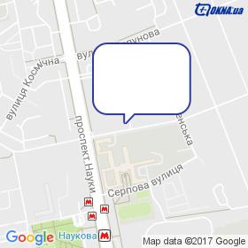 Інтерфокус на мапі