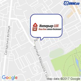 Інтер'єр-LUX на мапі