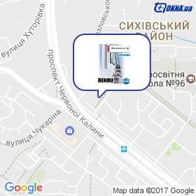 Інтерпластех на мапі