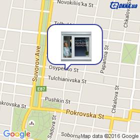 Иванова С.М. на карте