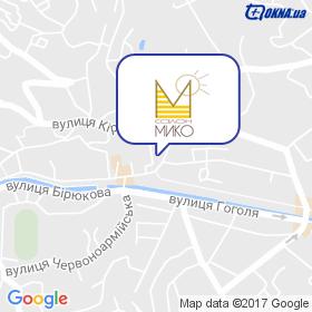 Івенкова на мапі
