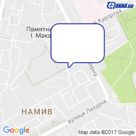 Калінін С.М. на мапі