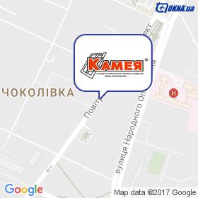 Камея на мапі