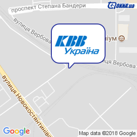 КВВ Украина на карте
