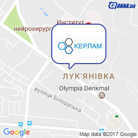 Керлам на мапі