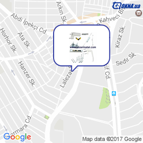 KERVAN PLASTIK DIS TIC LTD на мапі