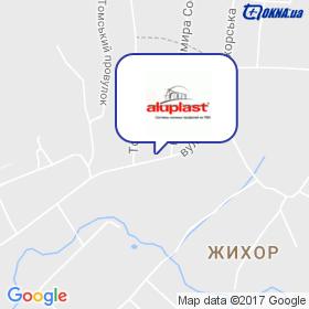 Кіченко на мапі