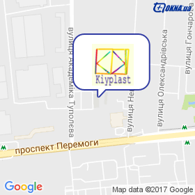 Кийпласт на карте