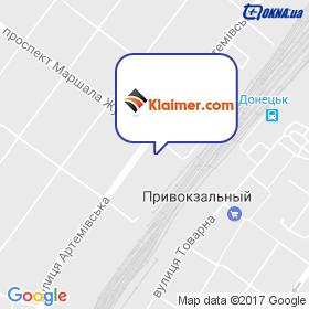 Кляймер на карте