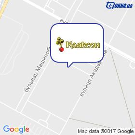 Клаксон на мапі