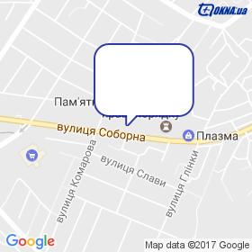 Вікна Корса - Кіровоград на мапі