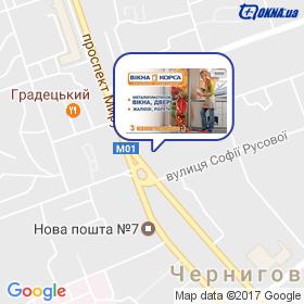 Кривопиша В.М. на карте