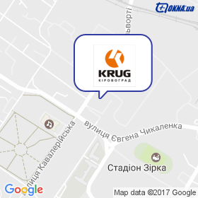 Круг-Кировоград на карте