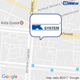 К-Систем на карте