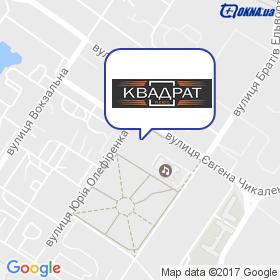 Квадрат-плюс на мапі