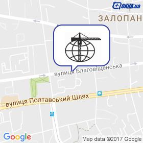 Квинтаком на карте
