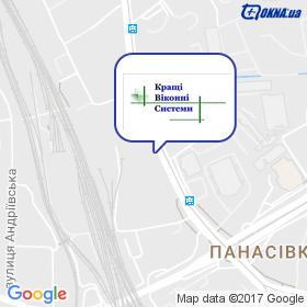 КВС на мапі