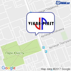 VIKNA-PLAST на мапі