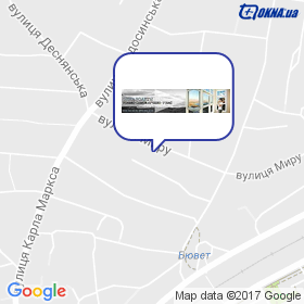 Левищенко на карте