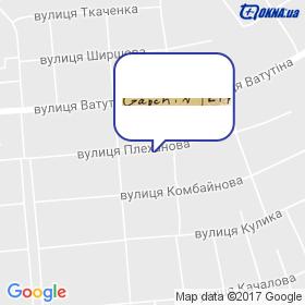 Терем Сервіс на мапі