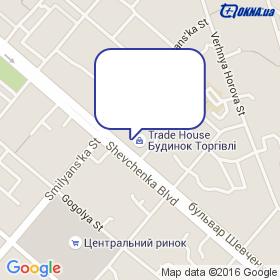 Лидер - Торг, ТД на карте