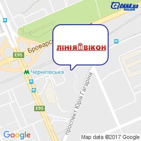 ЛИНИЯ ОКОН на карте