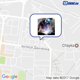 Ліо на мапі