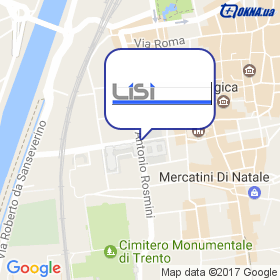 LISI Srl на мапі