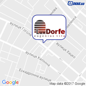 ЛюксДорф на мапі