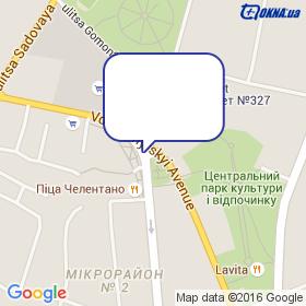 Представительство Стеклопласт в г.Лубны на карте