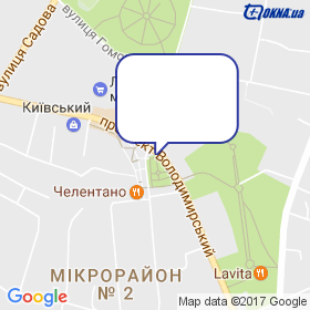 Представництво Стеклопласт в м.Лубни на мапі