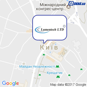 ЛЮМЕНТЕХ на мапі