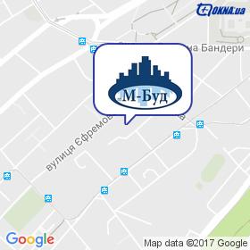 М-БУД на карте