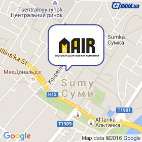 Маир на карте