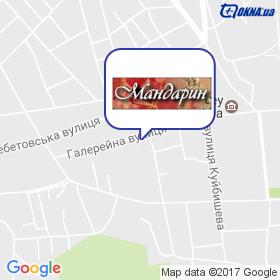Мандарин на мапі