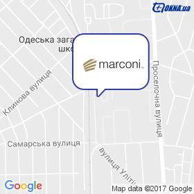 Марконі Ltd на мапі
