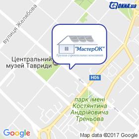 """ГСК """"МастерОК"""" на карте"""
