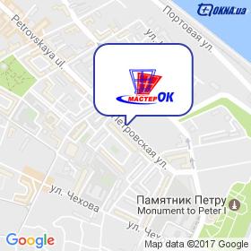 МастерОК на мапі