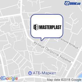 Майстер Пласт на мапі