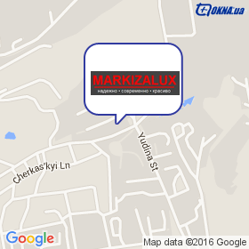 Markizalux ТМ на карте