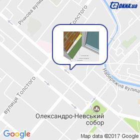Матвеев на карте