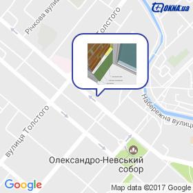 Матвєєв на мапі
