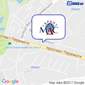 МДС Гарант на карте