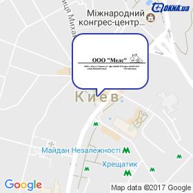 Мелс на карте