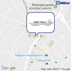 Мелс на мапі