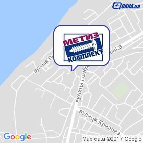 Метиз-Комплект на мапі