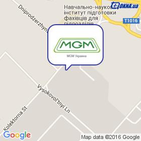 MGM Украина на карте