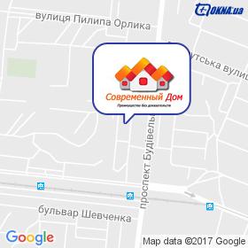Современный Дом - ФОП Слученков А.Н. на карте