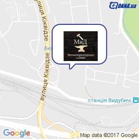 МіД на мапі