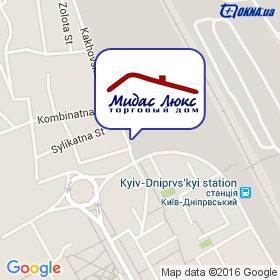 Мидас Люкс ТД  на карте